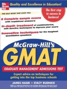 Ebook in inglese McGraw-Hill's GMAT Hackney, Ryan , Hasik, James , Rudnick, Stacey