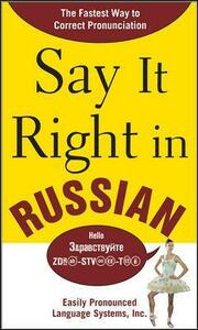 Say It Right in Russian - EPLS - cover
