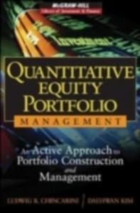 Ebook in inglese Quantitative Equity Portfolio Management Chincarini, Ludwig , Kim, Daehwan