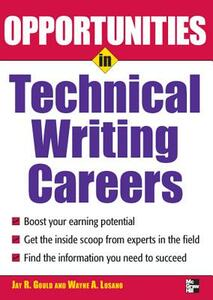 Opportunites in Technical Writing - Jay R. Gould - cover