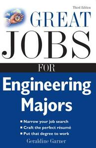 Great Jobs for Engineering Majors - Geraldine Garner - cover