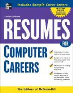 Resumes for Computer Careers - McGraw-Hill Education - cover