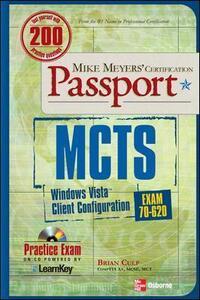 MCTS Windows Vista Client Configuration Passport (Exam 70-620) - Brian Culp - cover