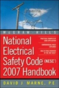 Ebook in inglese National Electrical Safety Code 2007 Handbook Marne, David