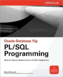 Oracle Database 11g PL/SQL Programming - Michael McLaughlin - cover