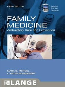 Family medicine, ambulatory care & prevention - copertina