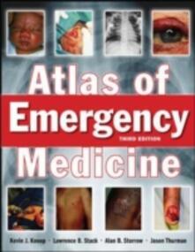 The atlas of emergency medicine - copertina