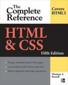 HTML & CSS: the complete reference - Thomas A. Powell - copertina