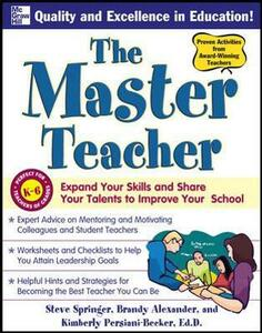 The Master Teacher - Steve Springer,Brandy Alexander,Kimberly Persiani - cover
