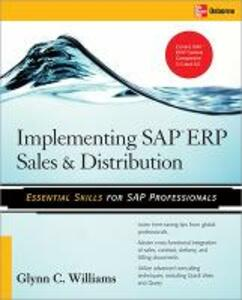 Implementing SAP ERP Sales & Distribution - Glynn C. Williams - cover