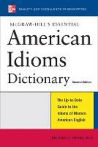 McGraw-Hill's Essential American Idioms - Richard A. Spears - cover