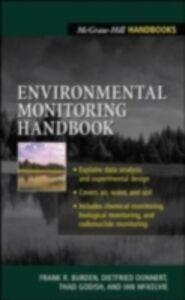 Ebook in inglese Environmental Monitoring Handbook Burden, Frank , Forstner, Ulrich , Guenther, Alex , McKelvie, Ian