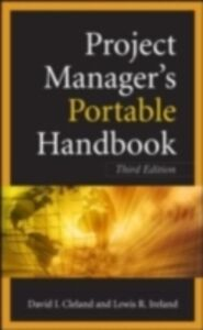 Ebook in inglese Project Managers Portable Handbook Cleland-Ireland