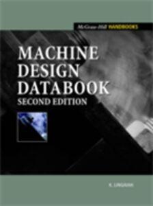 Ebook in inglese Machine Design Handbook Lingaiah, K.