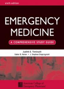 Ebook in inglese Emergency Medicine: A Comprehensive Study Guide, Sixth edition Kelen, Gabor D. , Physicians, American College of Emergency , Stapczynski, J. Stephan , Tintinalli, Judith E.