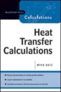 Ebook in inglese Heat Transfer Calculations Kutz, Myer