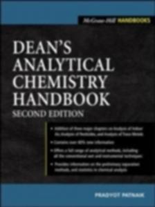 Ebook in inglese Dean's Analytical Chemistry Handbook Patnaik, Pradyot