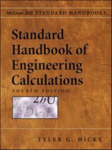 Ebook in inglese Standard Handbook of Engineering Calculations Hicks, Tyler G.