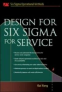 Ebook in inglese Design for Six Sigma for Service Yang, Kai