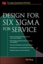 Design for Six Sigma for Service