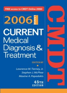 Ebook in inglese Current Medical Diagnosis & Treatment, 2006 McPhee, Stephen J. , Papadakis, Maxine A. , Tierney, Lawrence