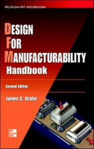 Ebook in inglese Design for Manufacturability Handbook Bralla, James