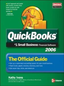 Ebook in inglese QuickBooks 2006: The Official Guide Ivens, Kathy