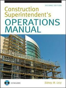 Construction Superintendent Operations Manual - Sidney Levy - cover