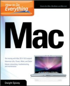 Ebook in inglese How to Do Everything Mac Spivey, Dwight