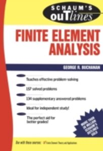 Foto Cover di Schaum's Outline of Finite Element Analysis, Ebook inglese di George Buchanan, edito da McGraw-Hill Education