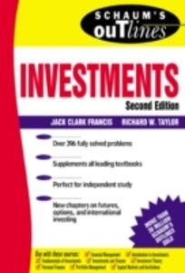 Ebook in inglese Schaum's Outline of Investments Francis, Jack , Taylor, Richard