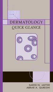 Ebook in inglese Dermatology Quick Glance Jaffer, Saeed , Qureshi, Abrar