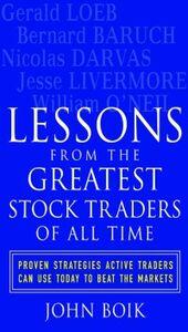 Foto Cover di Lessons from the Greatest Stock Traders of All Time, Ebook inglese di John Boik, edito da McGraw-Hill Education