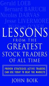 Lessons from the Greatest Stock Traders of All Time