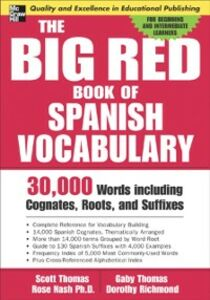 Ebook in inglese Big Red Book of Spanish Vocabulary Thomas, Scott