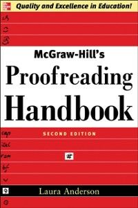 Ebook in inglese McGraw-Hill's Proofreading Handbook Anderson, Laura