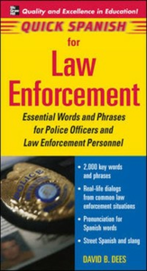Ebook in inglese Quick Spanish for Law Enforcement David, Dees