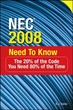 NEC 2008 Need to Know: The 20% of the Co