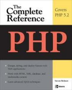 PHP: The Complete Reference - Steven Holzner - cover
