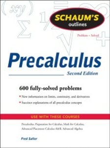 Ebook in inglese Schaum's Outline of PreCalculus, 2nd Ed. Safier, Fred