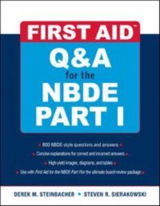 Ebook in inglese First Aid Q&A for the NBDE Part I Sierakowski, Steven , Steinbacher, Derek