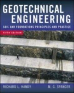 Foto Cover di Geotechnical Engineering, Ebook inglese di Richard Handy,Merlin Spangler, edito da McGraw-Hill Education