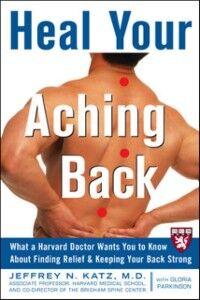 Ebook in inglese Heal Your Aching Back Katz, Jeffrey