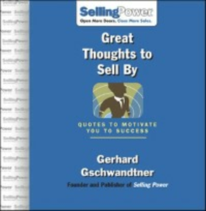 Ebook in inglese Great Thoughts to Sell By Gschwandtner, Gerhard
