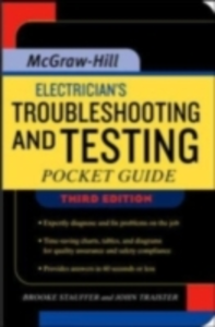 Ebook in inglese Electrician's Troubleshooting and Testing Pocket Guide, Third Edition Stauffer, Brooke , Traister, John