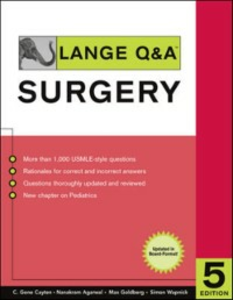 Ebook in inglese Lange Q&A Surgery, Fifth Edition Agrawal, Nanakram , Cayten, C. , Goldberg, Max