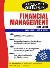 Schaum's Outline of Financial Management, Third Edition