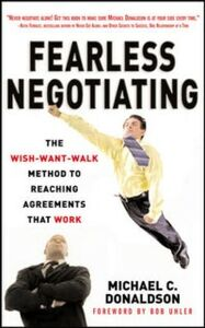 Foto Cover di Fearless Negotiating, Ebook inglese di Michael Donaldson, edito da McGraw-Hill Education
