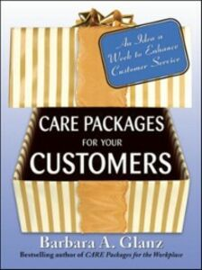 Ebook in inglese Care Packages for Your Customers Glanz, Barbara