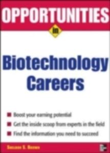 Ebook in inglese Opportunities in Biotech Careers Brown, Sheldon